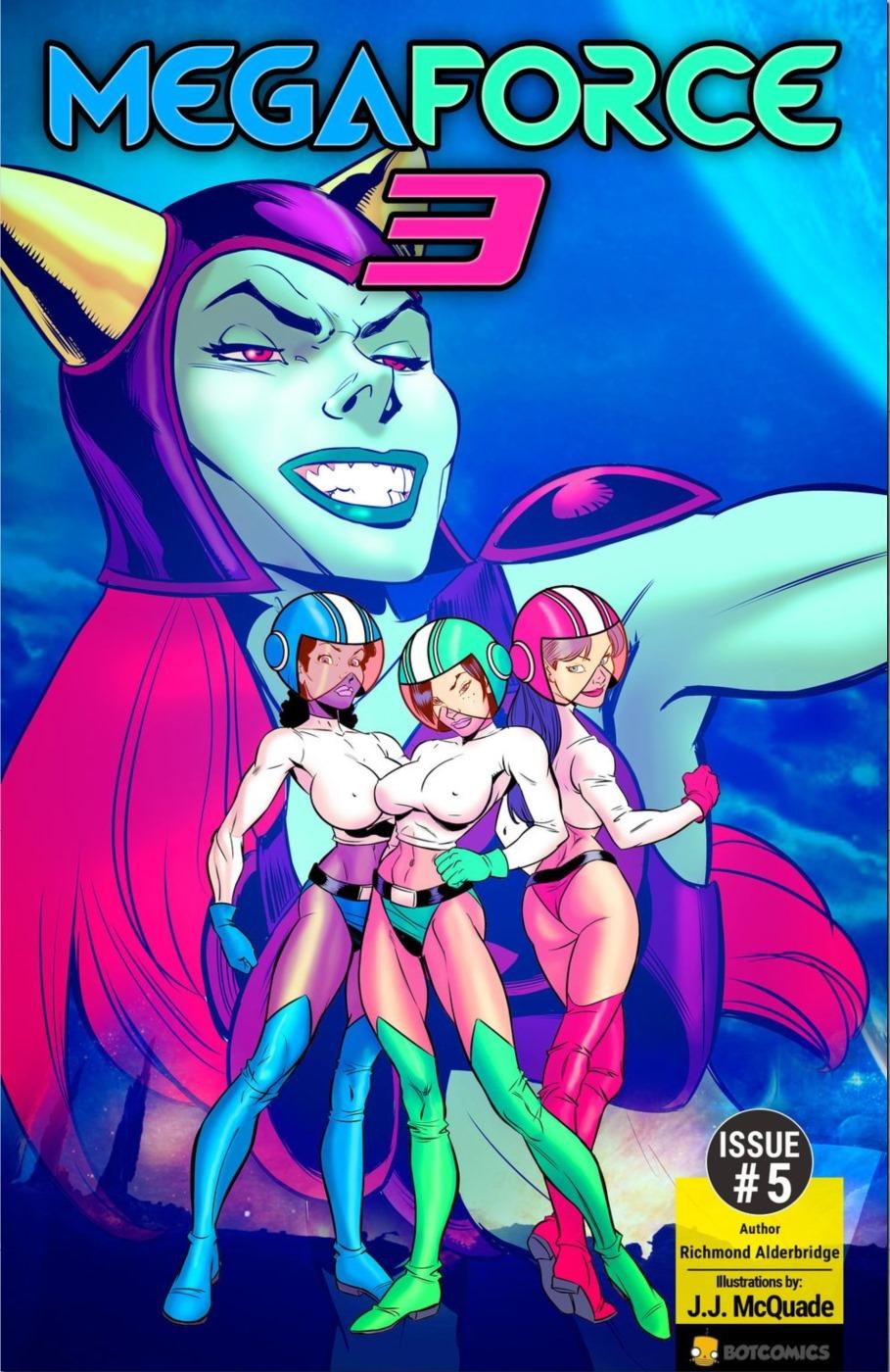 Porn Comics - Mega Force Three 5 porn comics 8 muses