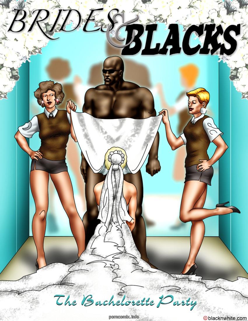 Porn Comics - Brides and Blacks 1- BNW porn comics 8 muses