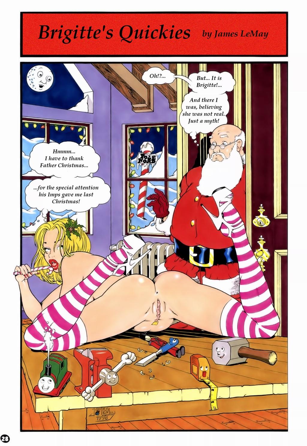 Porn Comics - Brigitte Quickies-interracial nymphomaniac porn comics 8 muses