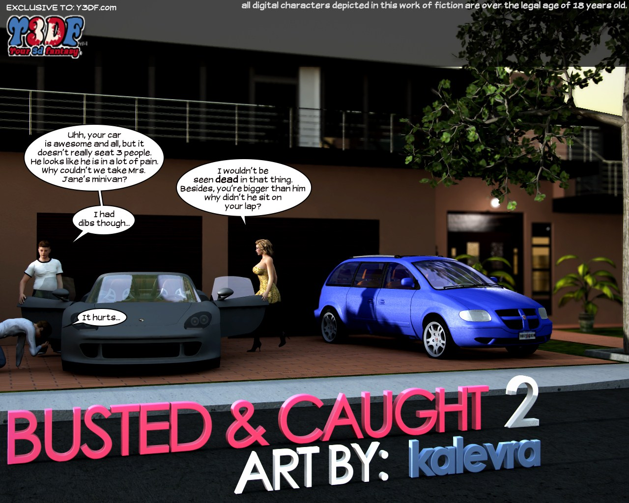 Porn Comics - Y3DF- Busted & Caught 2 porn comics 8 muses
