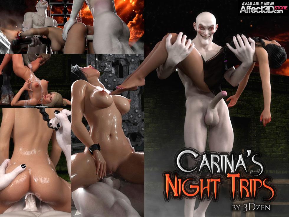 Porn Comics - Carina's Night Trips- 3DZen porn comics 8 muses
