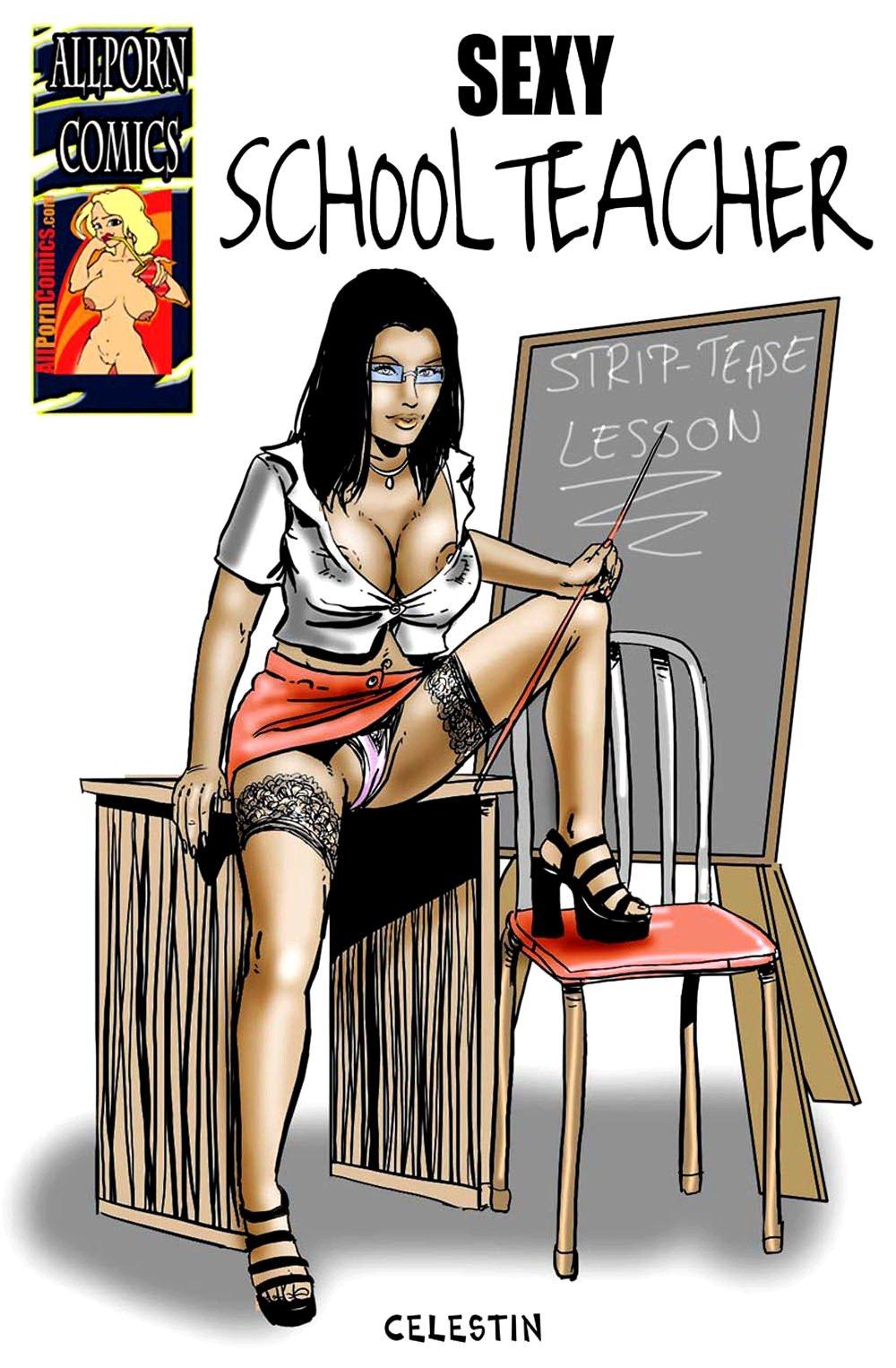 Porn Comics - Celestin-Sexy School Teacher AllPorn porn comics 8 muses