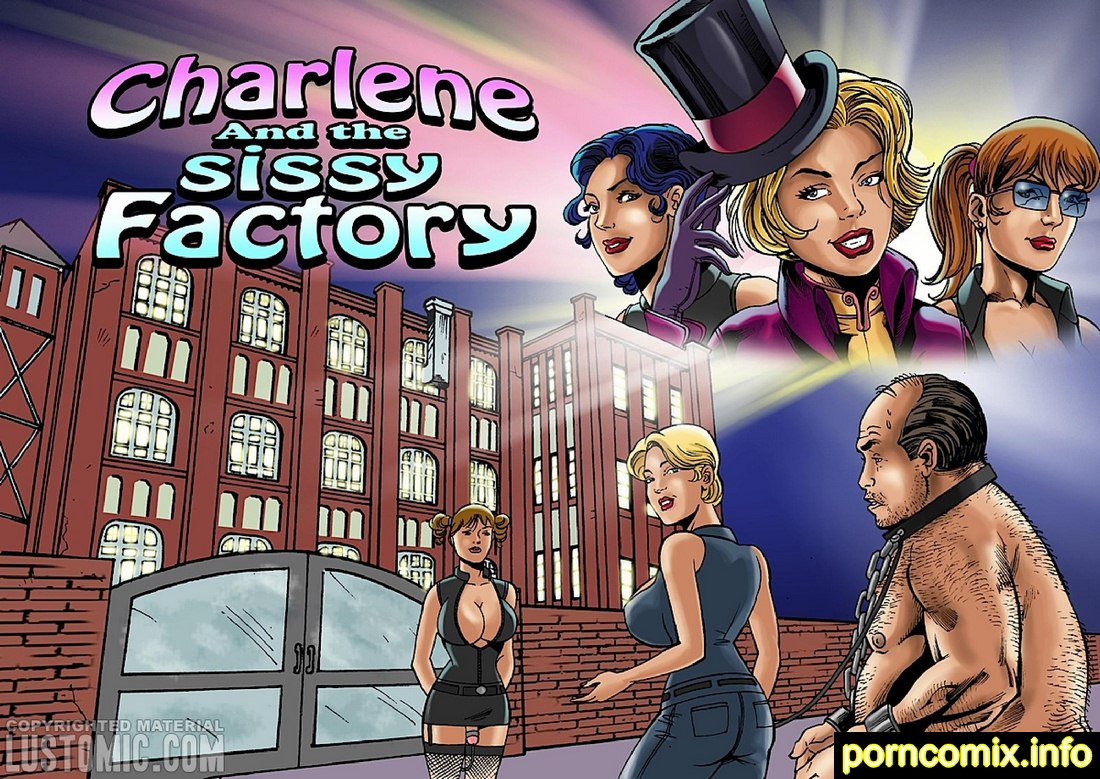 Lustomic – Charlene and the Sissy Factory image 01