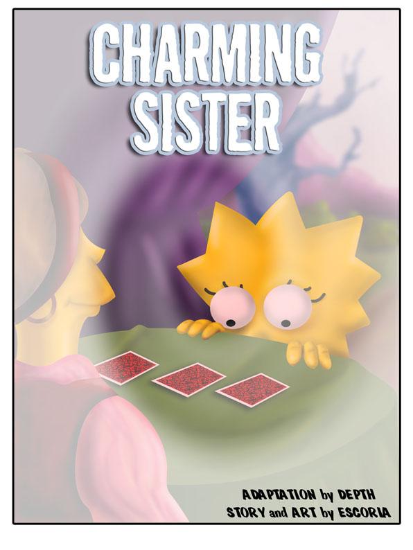 Porn Comics - Charming Sister – The Simpsons porn comics 8 muses