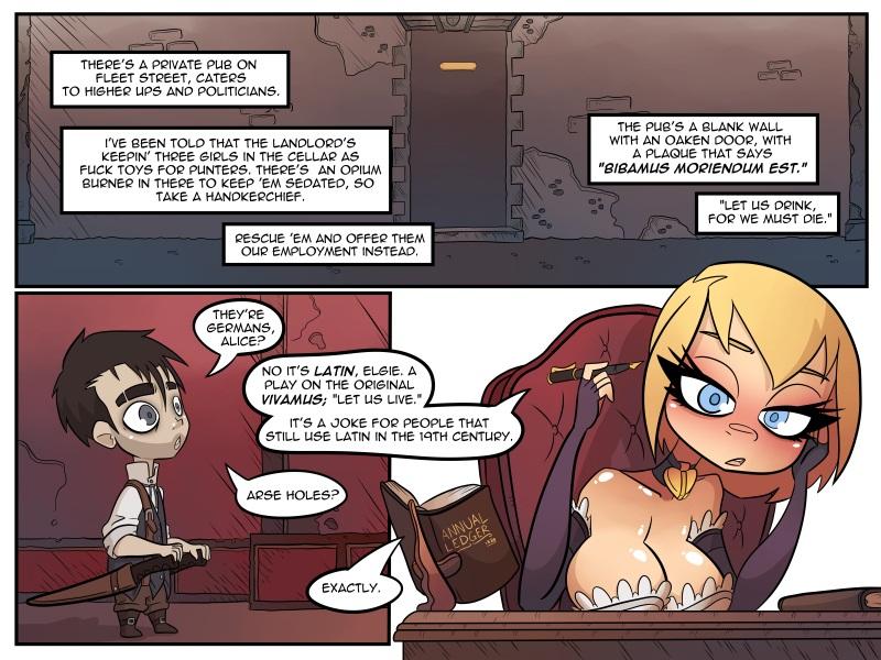 Porn Comics - Chimneyspeak (jack cayless) porn comics 8 muses