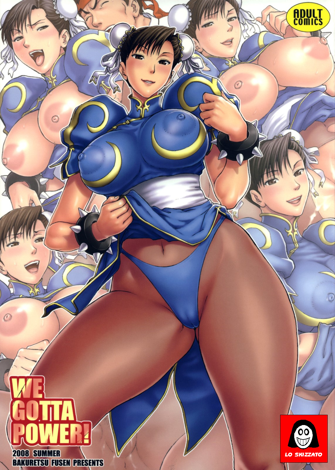 Porn Comics - We Gotta Power! (Street Fighter) porn comics 8 muses