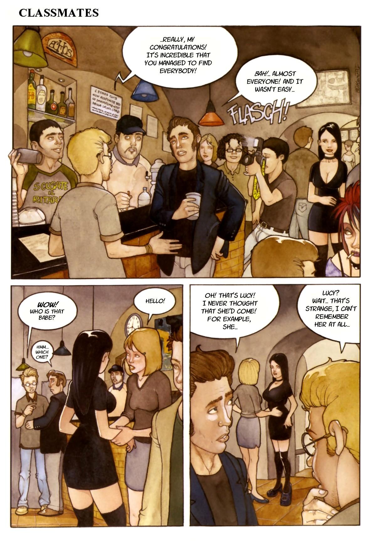 Porn Comics - Classmates porn comics 8 muses