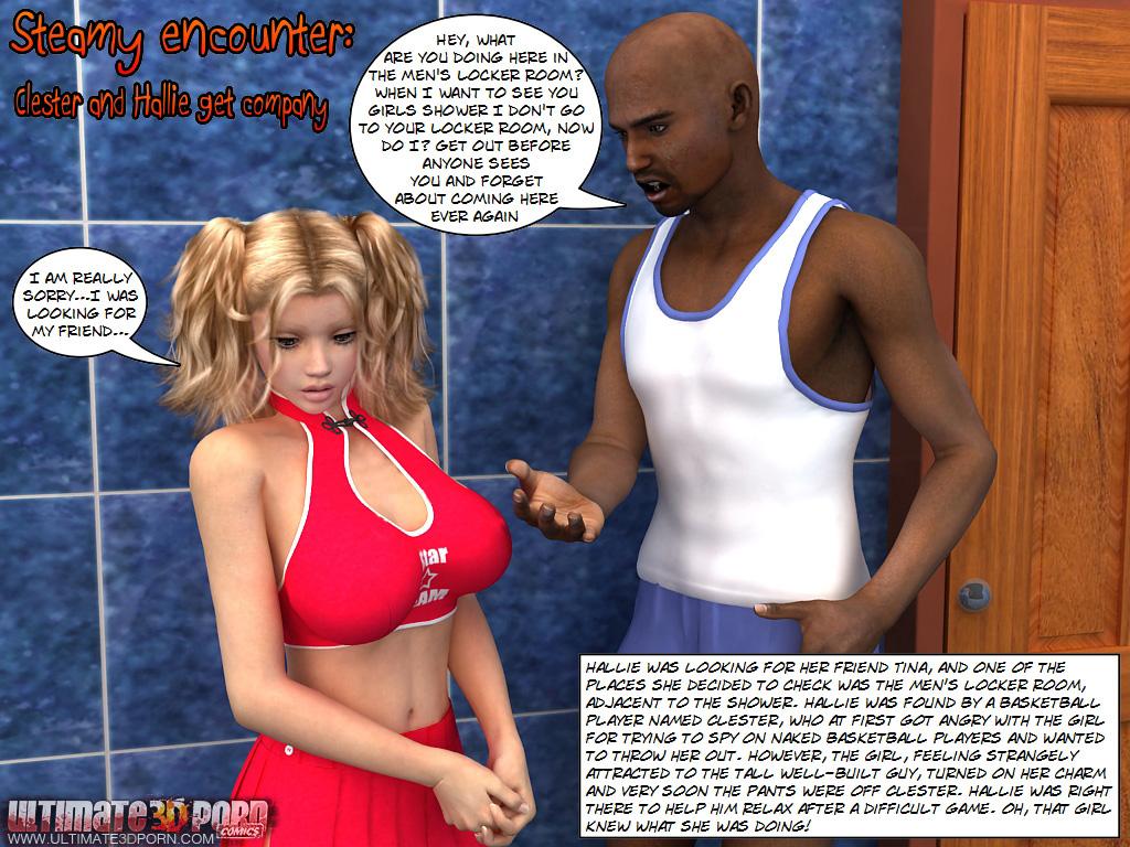 Porn Comics - Clester And Hallie Get Company Ultimate3DPorn porn comics 8 muses