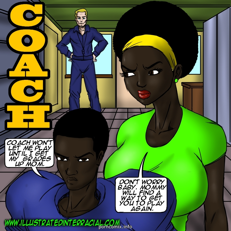 Porn Comics - Coach- illustrated interracial porn comics 8 muses