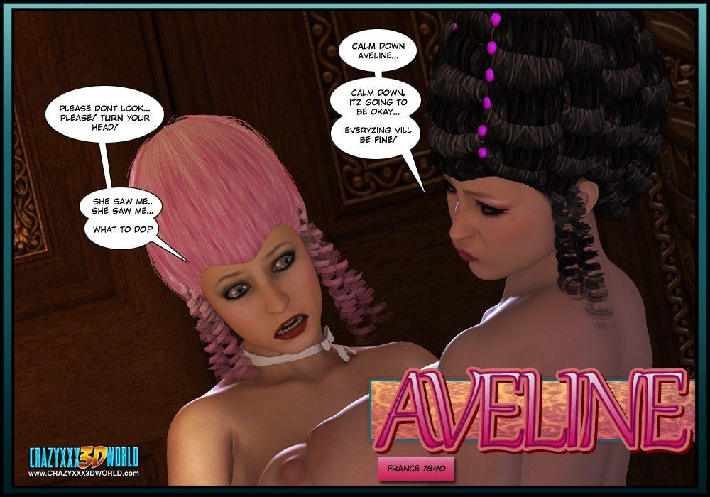 Crazy xxx 3D-Aveline 2 image 01