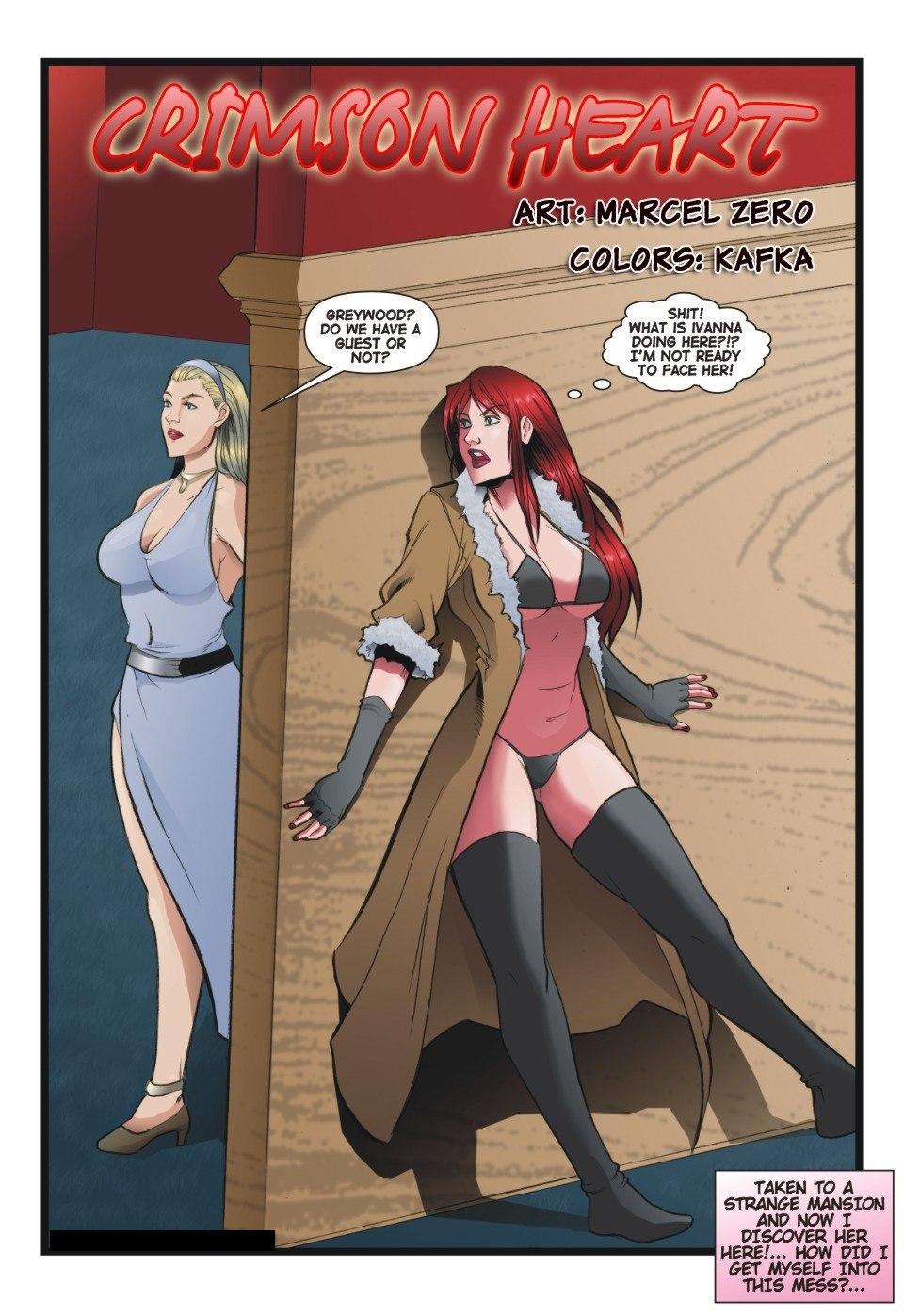 Porn Comics - Crimson Heart 4-7 Marcel Zero porn comics 8 muses