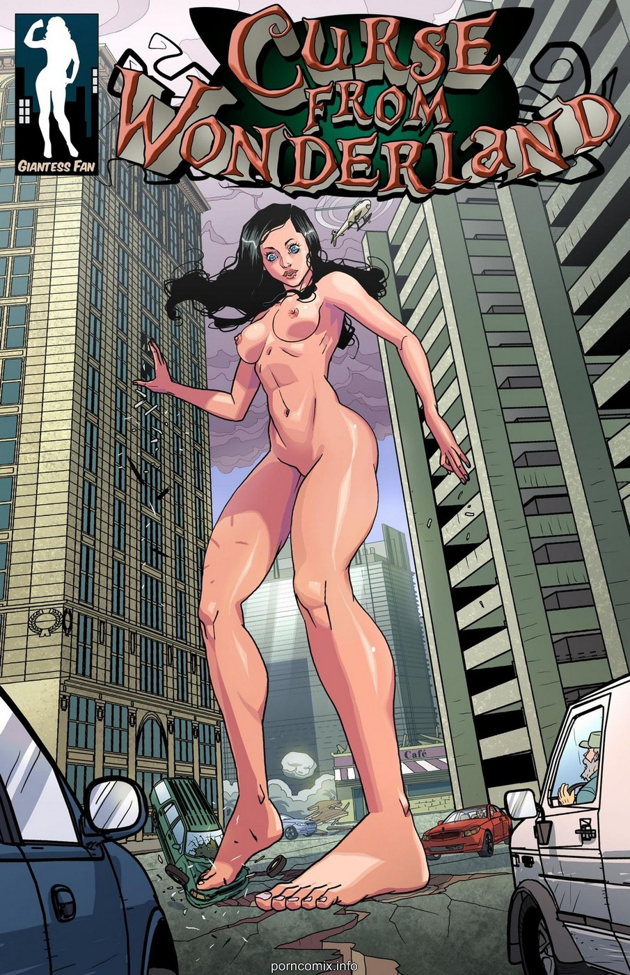 Porn Comics - Curse From Wonderland- Giantess Fan porn comics 8 muses