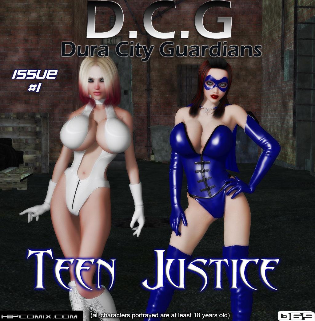 Porn Comics - DCG-Dura City Guardians Teen Justice 1 porn comics 8 muses