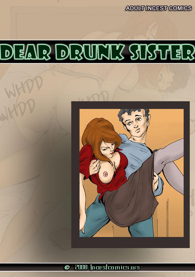 Porn Comics - Dear Drunk Sister- icws porn comics 8 muses