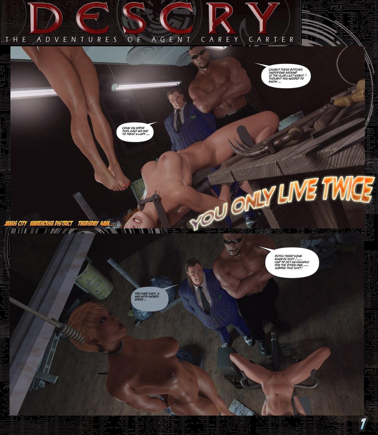 Descry- Adventures of Agent Carey image 1
