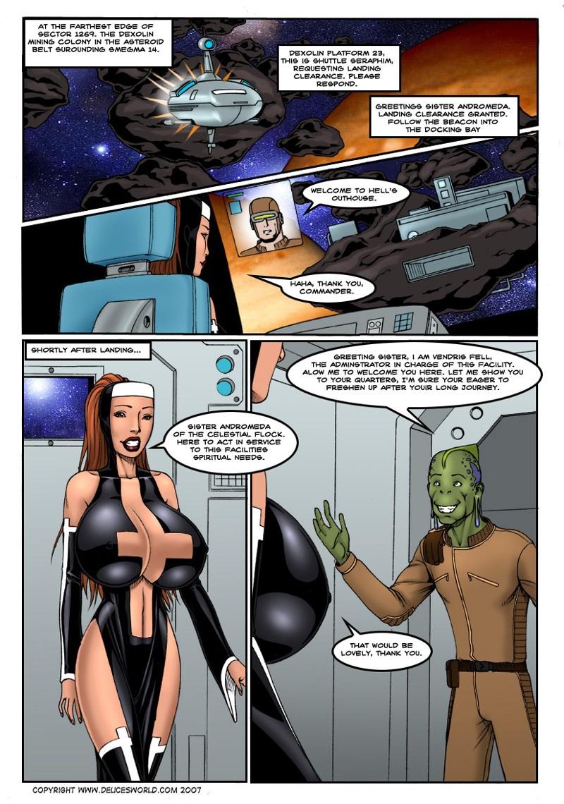 Porn Comics - Astro Nun- DeucesWorld porn comics 8 muses