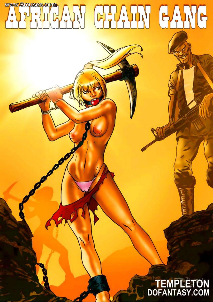 Porn Comics - Dofantasy-African Chain Gang porn comics 8 muses