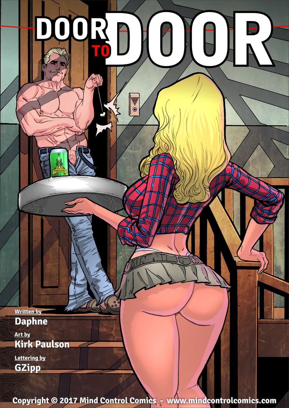 Porn Comics - Door to Door-Mind Control porn comics 8 muses