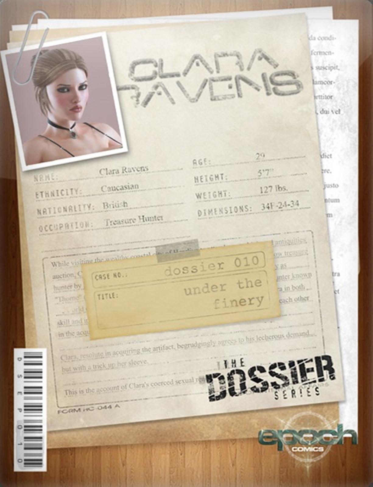 The Dossier 10- Epoch- Clara Ravens image 1