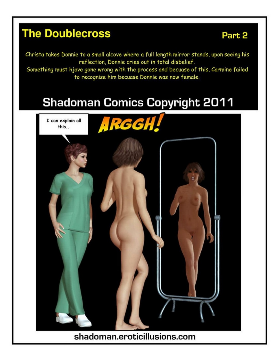 Porn Comics - Shadoman – The doublecross 2 porn comics 8 muses