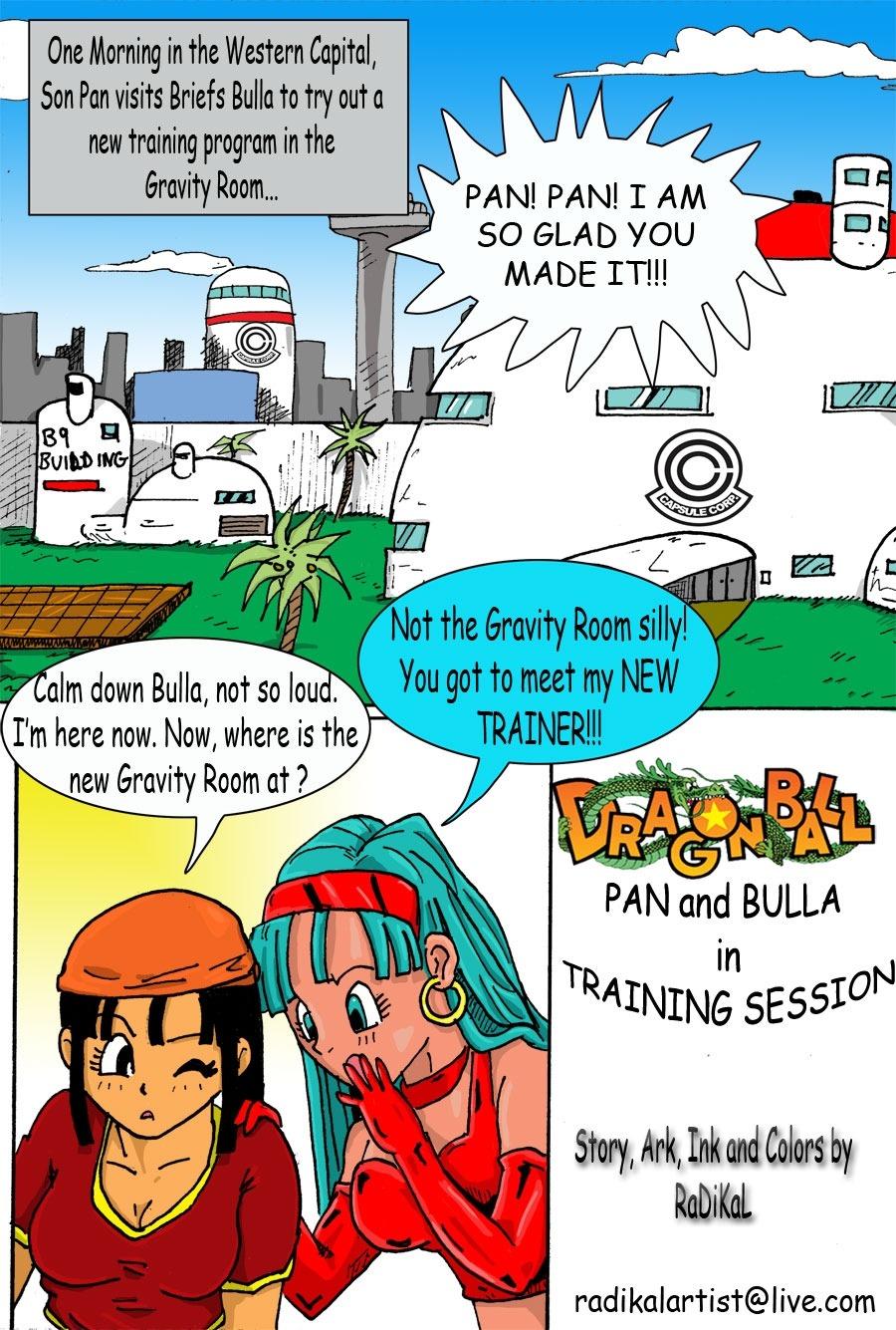 Porn Comics - Dragon Ball- Pan And Bra's New Trainer porn comics 8 muses