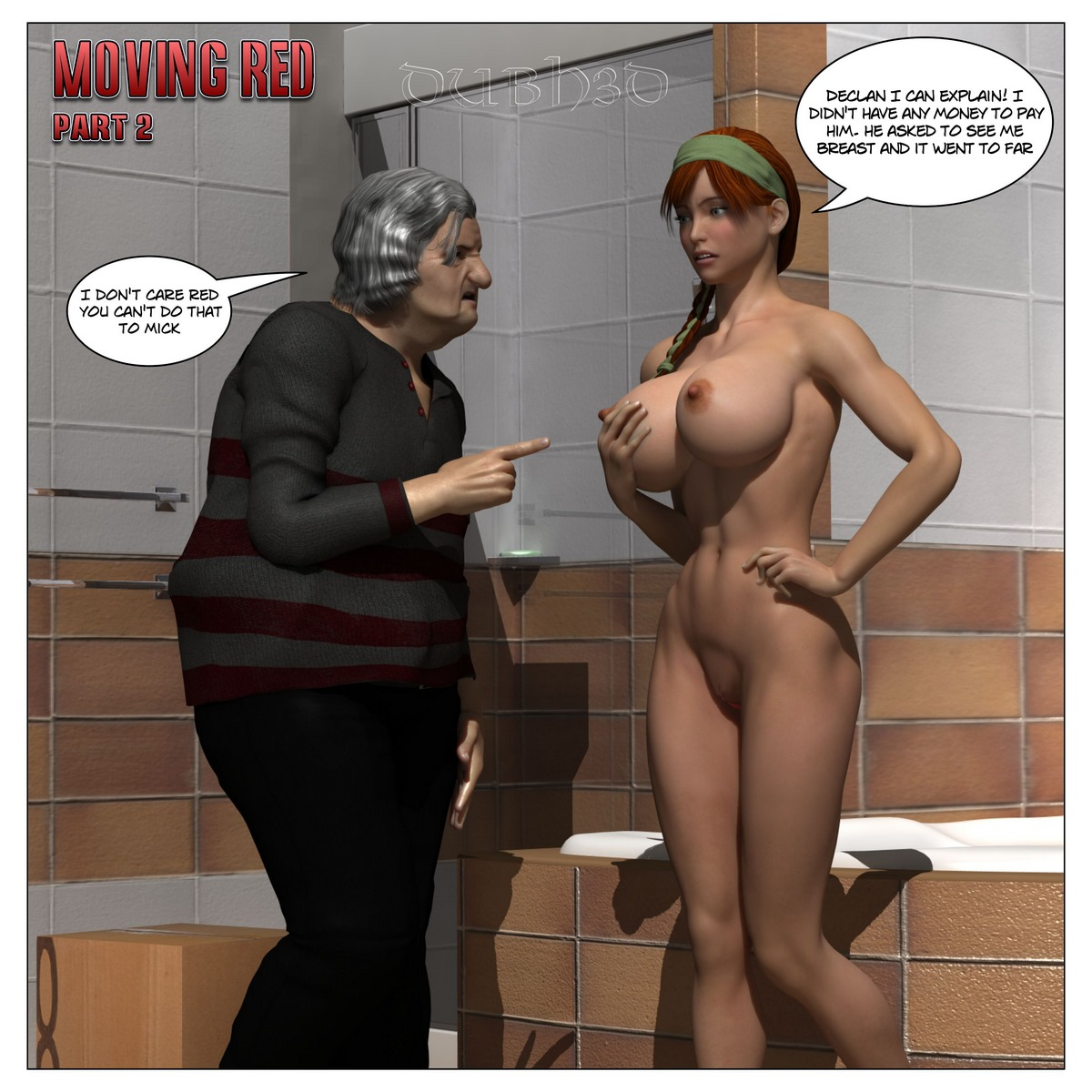 Porn Comics - Dubh3d – Moving Red Issue 2 porn comics 8 muses