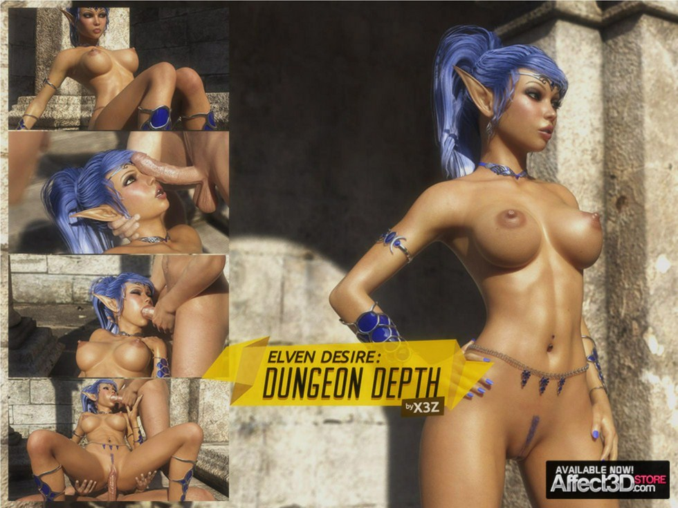 Porn Comics - Dungeon Depth (Syndori's Dream)-[X3Z] Elven Desires 3 porn comics 8 muses