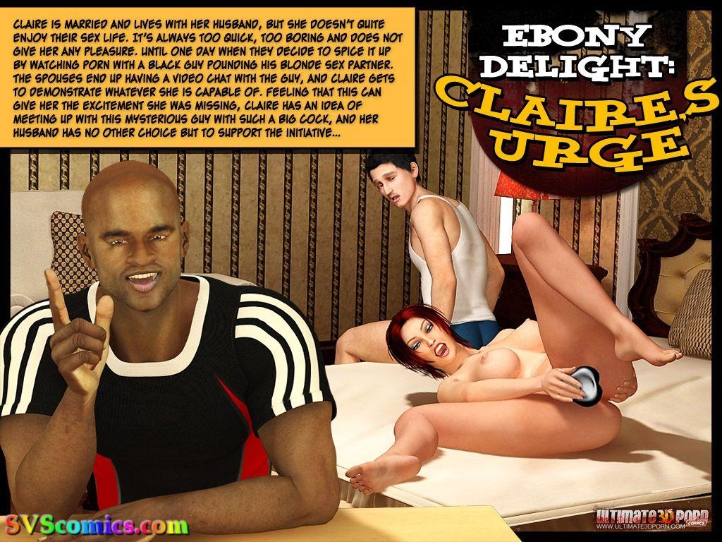 Porn Comics - Ebony Delight- Claire's Urge porn comics 8 muses