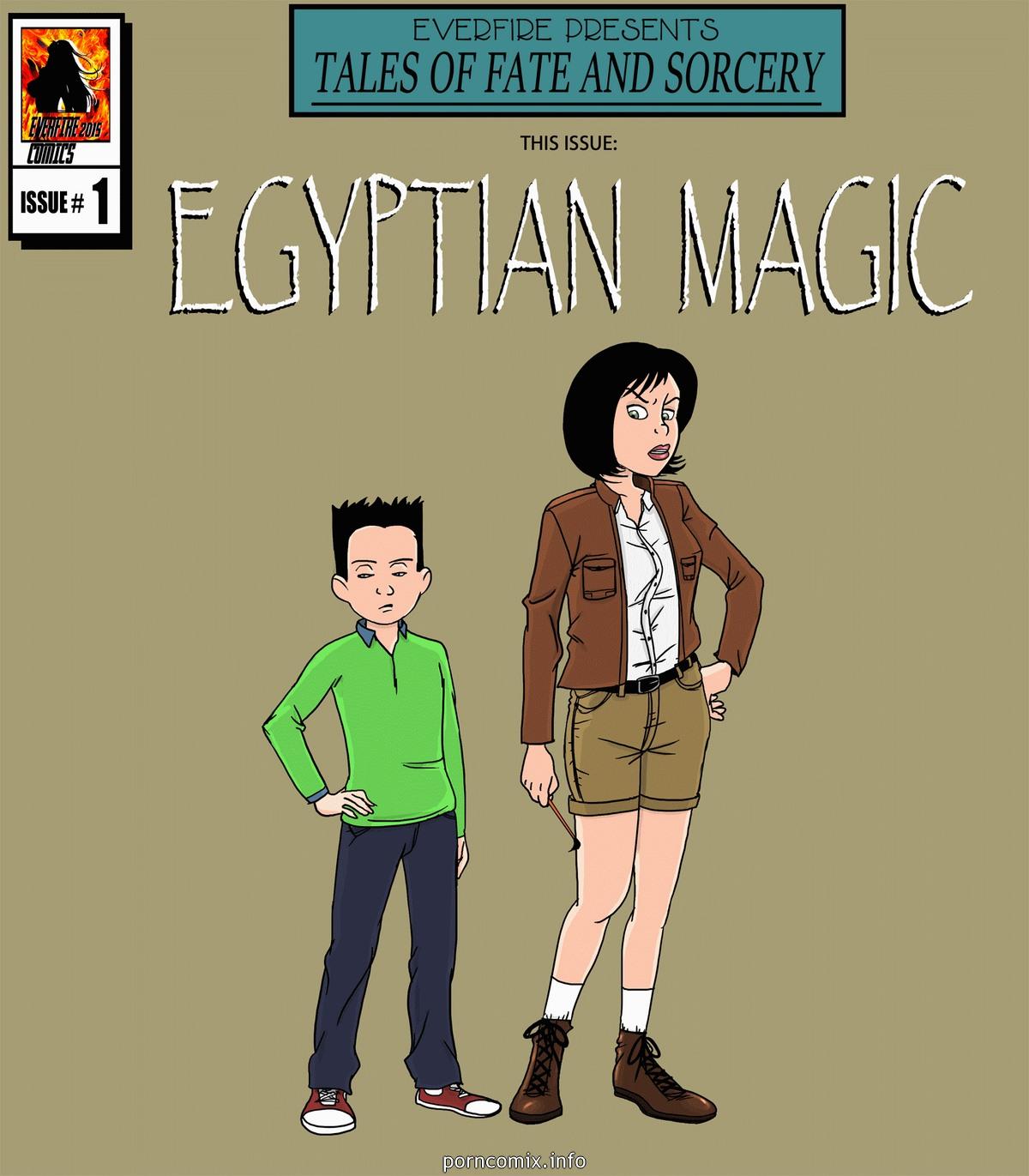 Porn Comics - Egyptian Magic porn comics 8 muses