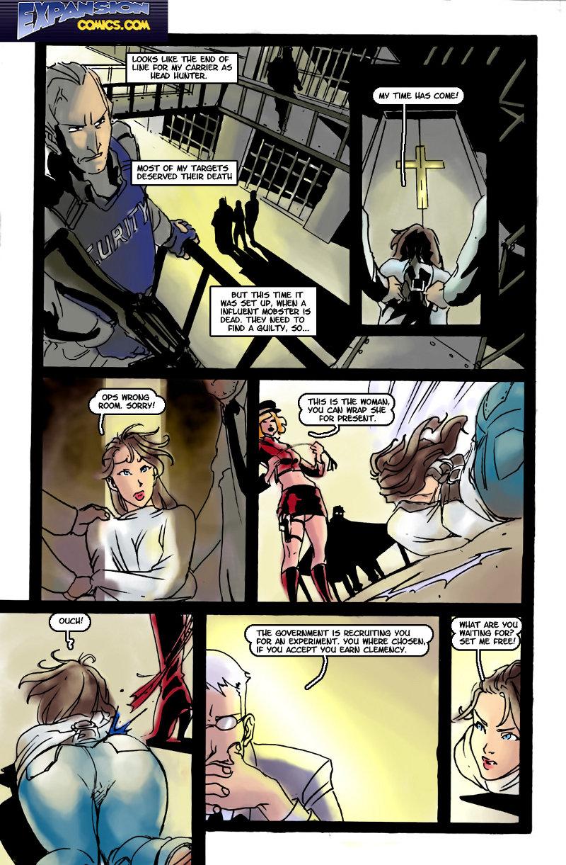 Expansion Comics-Weapon Women image 01