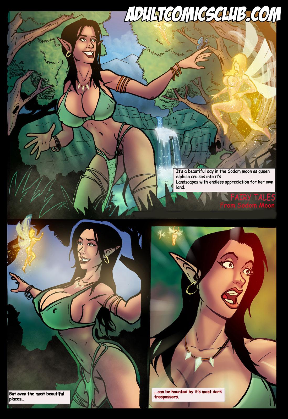 Porn Comics - Fairy Tales 1-2 Adultcomics Club porn comics 8 muses