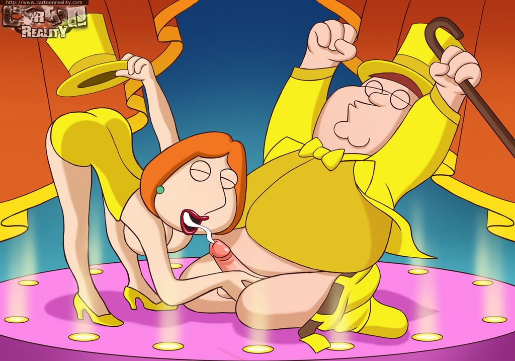 Family Guy Griffins- Cartoon Reality image 1