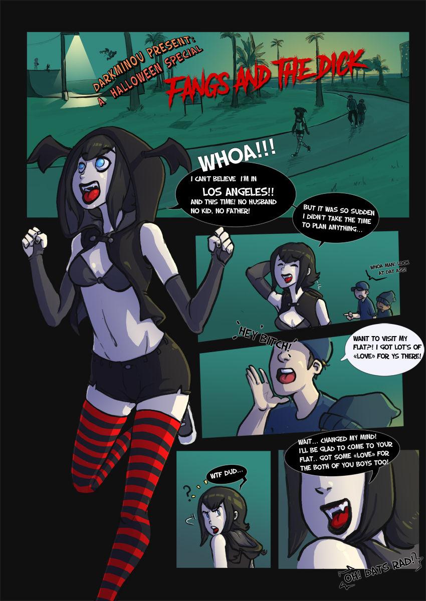 Porn Comics - Fangs and the Dick- Hotel Transylvania porn comics 8 muses