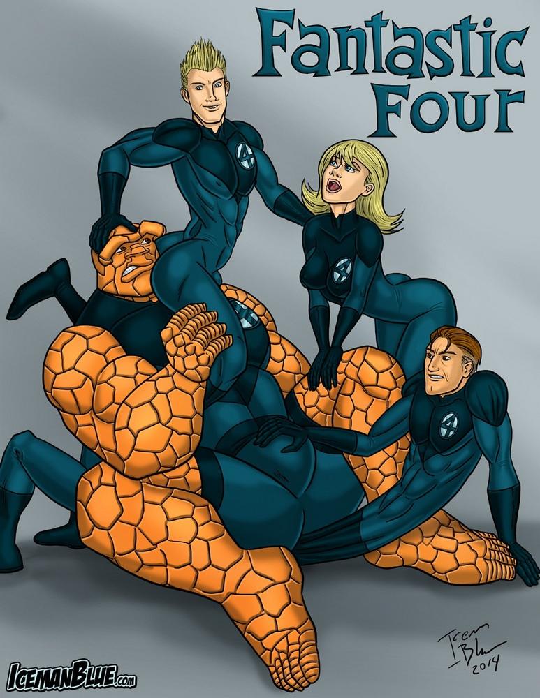 Porn Comics - Iceman Blue- Fantastic Four porn comics 8 muses