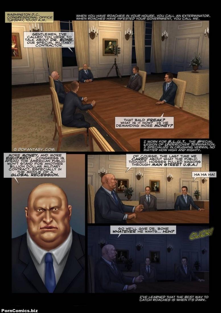 Porn Comics - Agent Silver- Dofantasy porn comics 8 muses