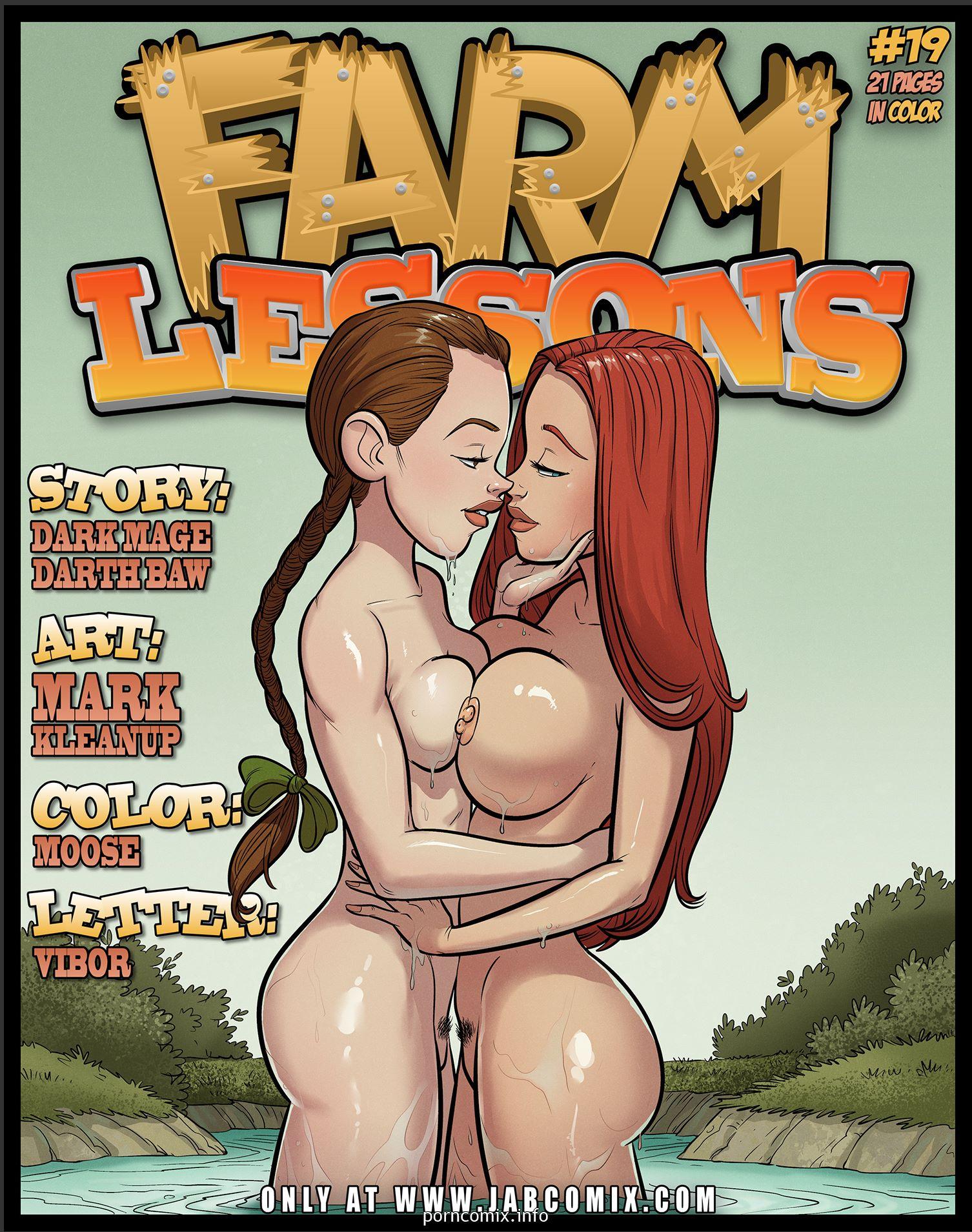 Porn Comics - Farm Lessons 19- Jab Comix porn comics 8 muses