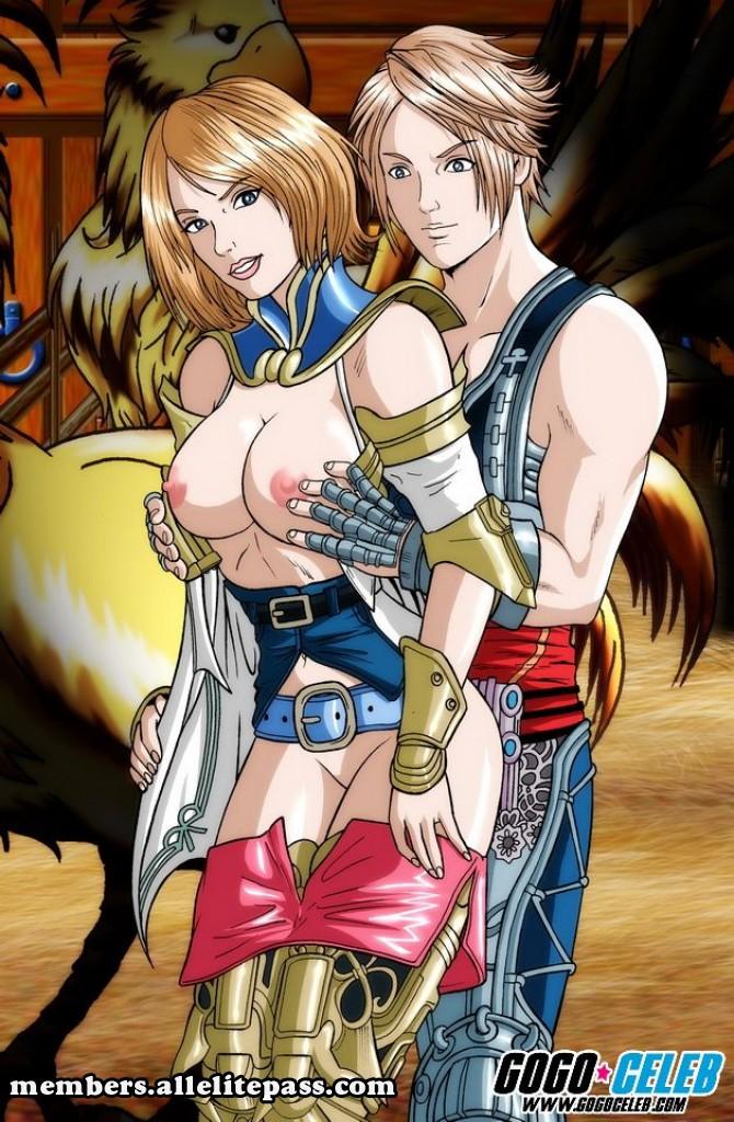 Porn Comics - Final Fantasy- GoGo Celebs porn comics 8 muses