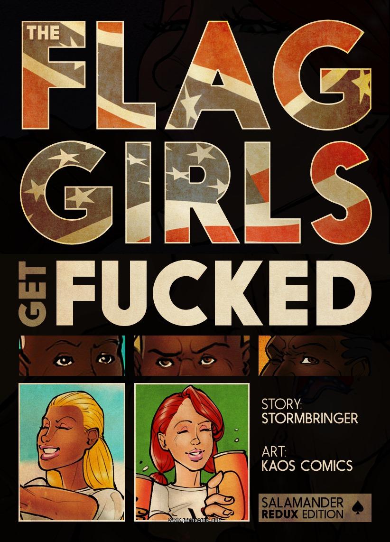 Porn Comics - Flag Girls Get Fucked- Kaos porn comics 8 muses