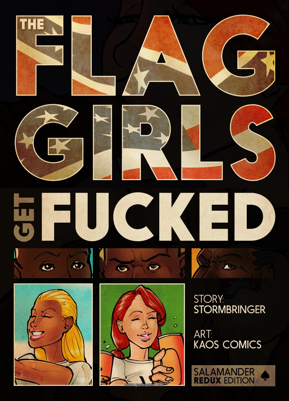 Flag Girls Get Fucked- Kaos image 1