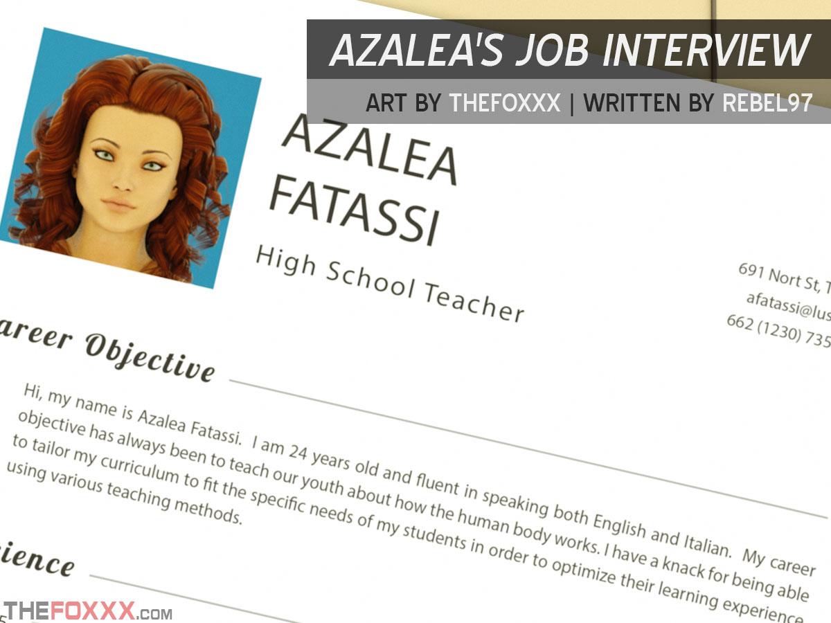 Porn Comics - Foxxx – Azalea's Job Interview porn comics 8 muses