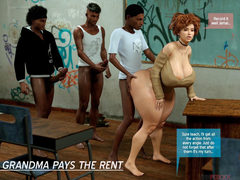 Porn Comics - Foxxx- Grandma Pays the Rent porn comics 8 muses