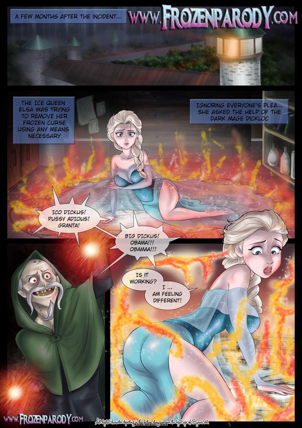 Porn Comics - Frozen Parody-4 porn comics 8 muses
