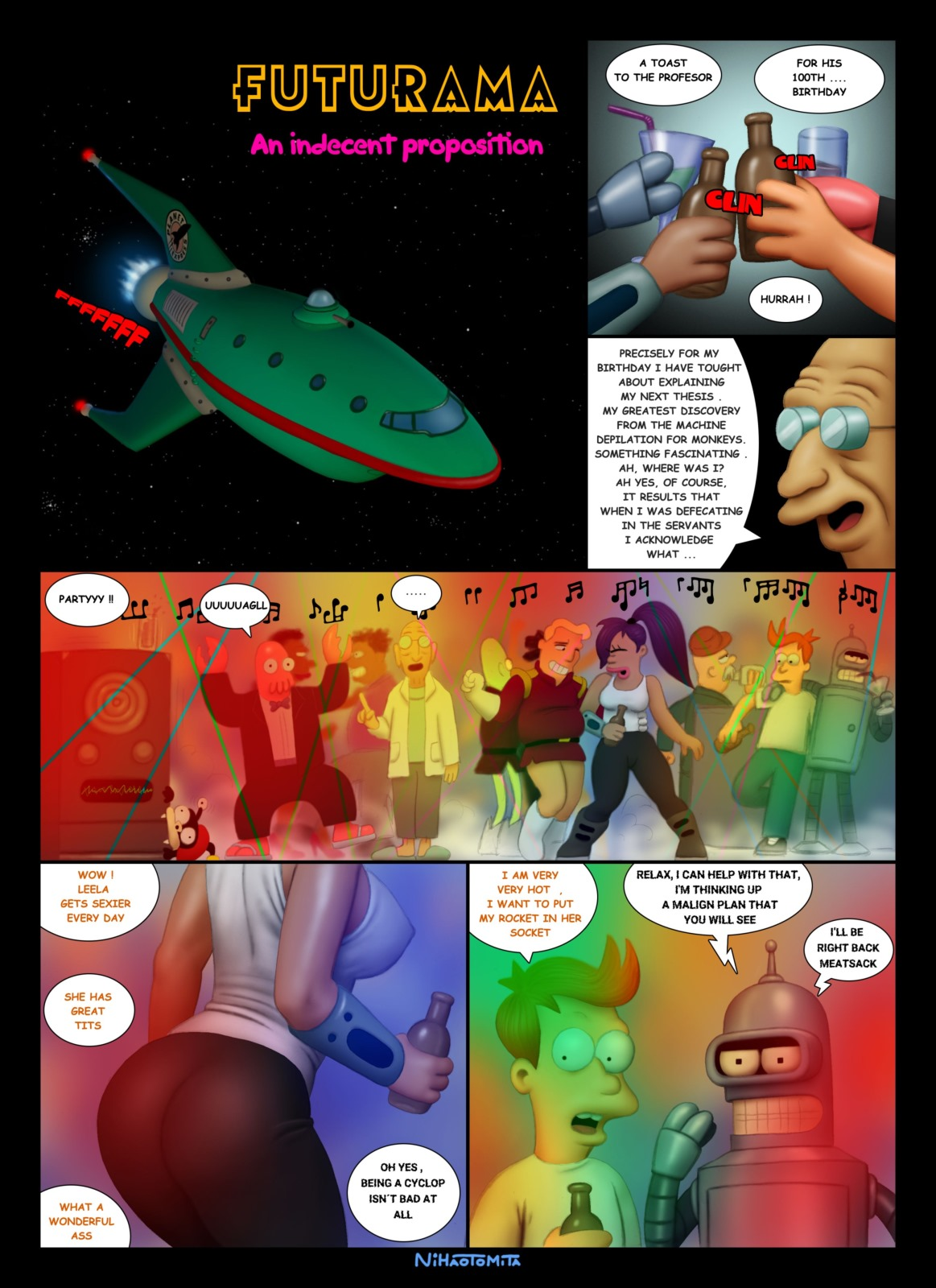 Futurama- An Indecent Proposition image 1