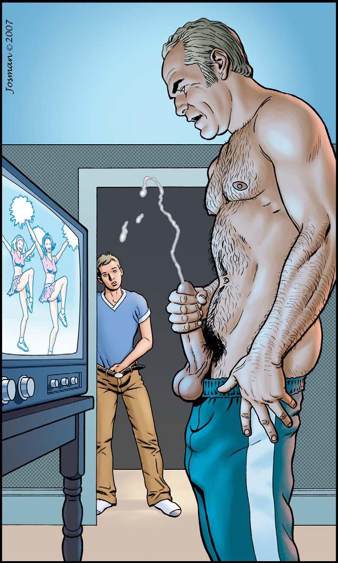 Porn Comics - Gay Comics- The Match porn comics 8 muses