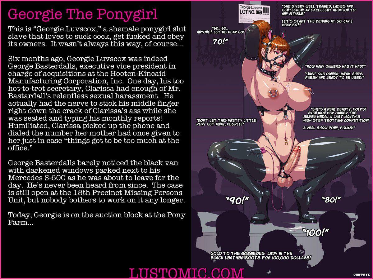 Porn Comics - Georgie The Ponygirl- Lustomic porn comics 8 muses