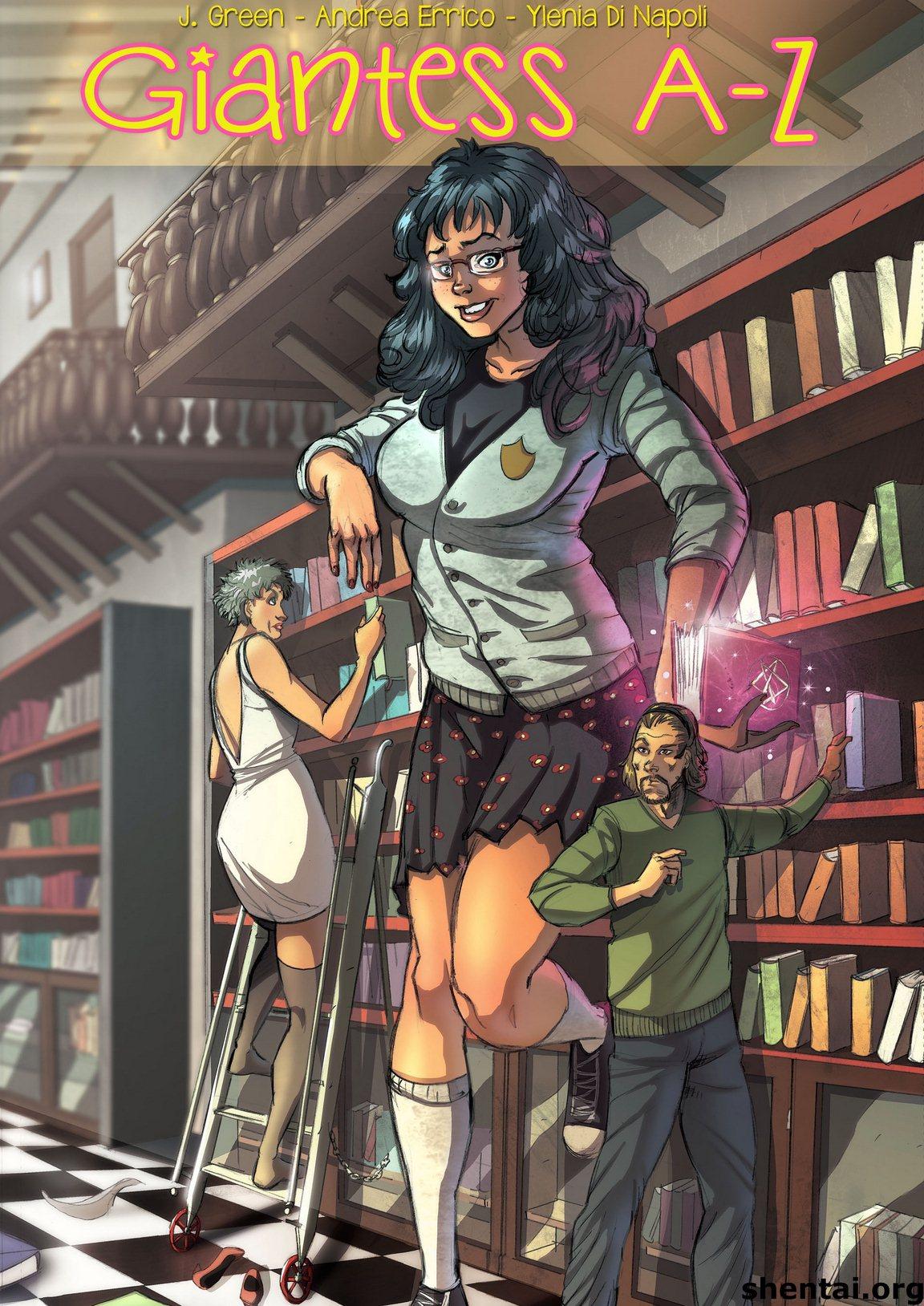 Porn Comics - Giantess A-Z porn comics 8 muses