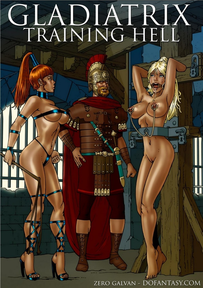 Zero Galvan- Gladiatrix Training Hell image 01