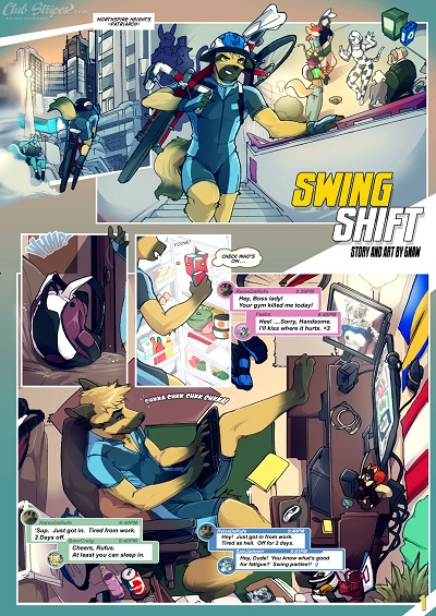 Porn Comics - [gNAW] Swing Shift (In-progress) porn comics 8 muses