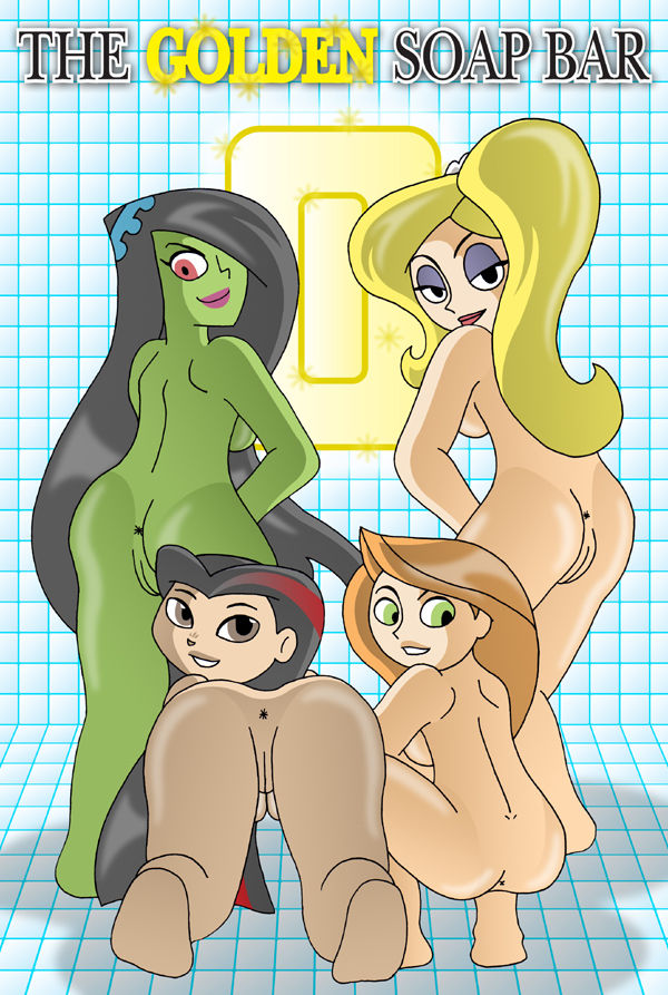 Porn Comics - Golden Soap Bar 1 & 2- Kim Possible porn comics 8 muses