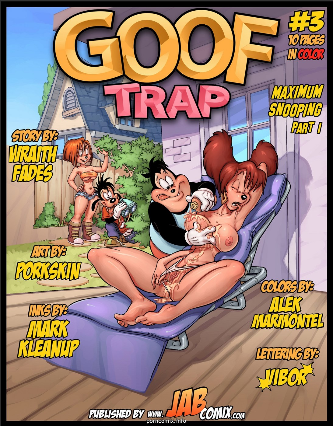 Porn Comics - Goof Trap 3 – Maximum Snooping porn comics 8 muses